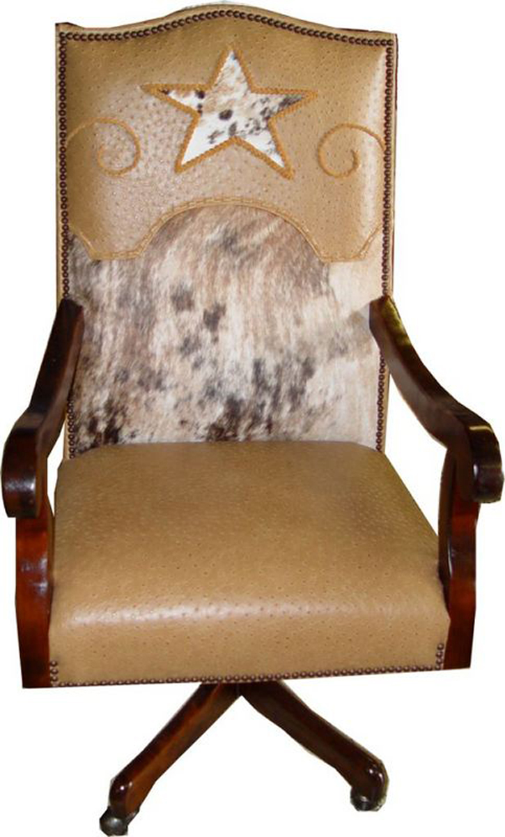 Cowhide Office Chairs Cowhide Desk Chairs Free Shipping