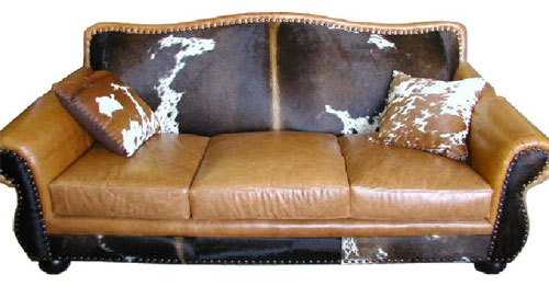 Cowhide Furniture Western Style Furniture Free Shipping