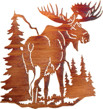 Moose Wall Hangings