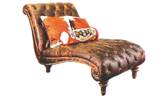 Cowhide furniture western style furniture country western for Chaise western
