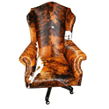 Country Western Executive Swivel Desk Chair