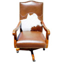 Country Western Desk Chair