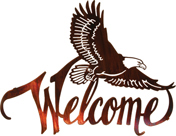 eagle welcome sign