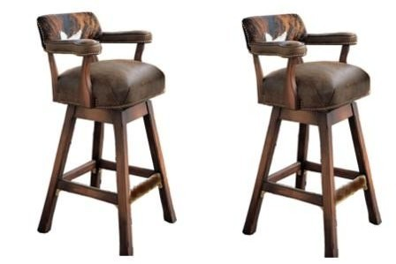 Hair On Hide Bar Stools And Bar Chairs. Gator And Croc Exotic Bar Stools 4  Cowhide Bar Stools $ 4,154.00. Texas Web Store