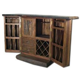 WESTERN RUSTIC LODGE FURNITURE / BARS - BAR STOOLS