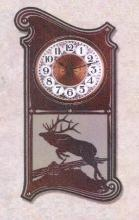 MOUNTAIN LODGE / OUTDOORS - SPORTSMANS WALL CLOCKS