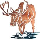 Moose Hunters Home Decor