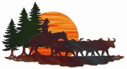 Western Theme Wall Art / Wall Hangings - Home Decor