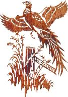 Pheasant Hunters Wall Art