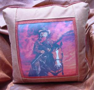 WESTERN THEME COWBOYS / COWGIRLS PILLOW ACCENTS