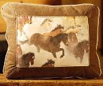EQUESTRIAN LEATHER DESIGNER PILLOWS