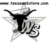 Texas Web Store Logo on metal wall art hangings moose page