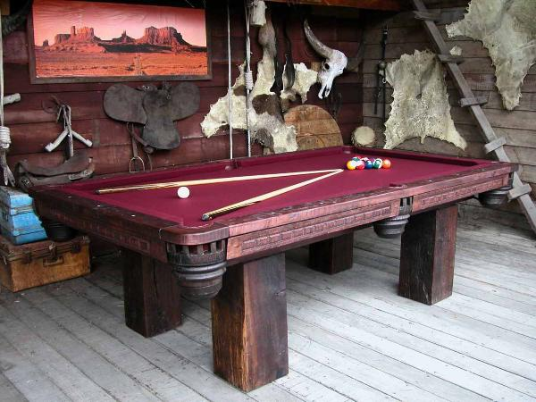 Country Western Pool Tables