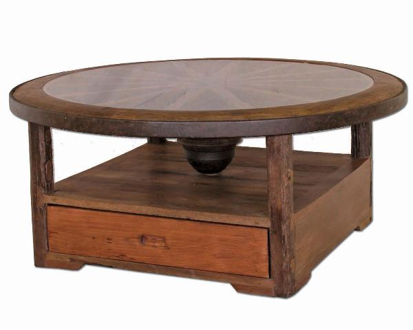 RUSTIC LOG CABIN COFFEE TABLES