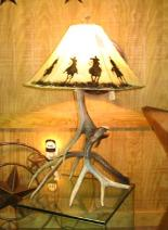 WILDLIFE LAMP SHADES, COWBOY LAMP SHADES, COUNTRY WESTERN LAMP SHADES, NATIVE AMERICAN INDIAN LAMP SHADES