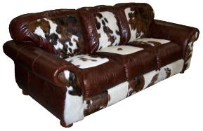 Charmant COWHIDE CHAIRS, RECLINERS. WESTERN STYLE FURNITURE