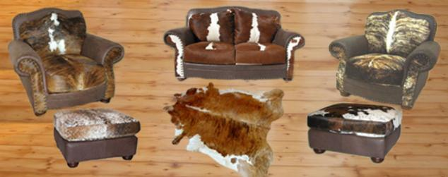 cowhide western furniture pics and images