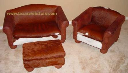 Cowhide Furniture Groups, WE BEAT FREE SHIPPING